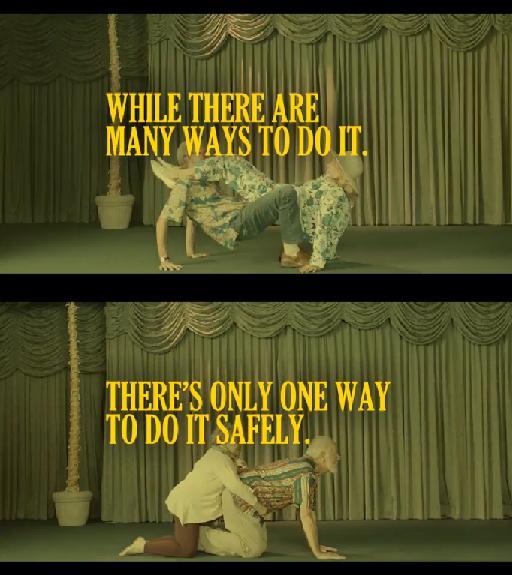 'Mientras hay muchas maneras de hacerlo, solo jay una forma de hacerlo con seguridad'
