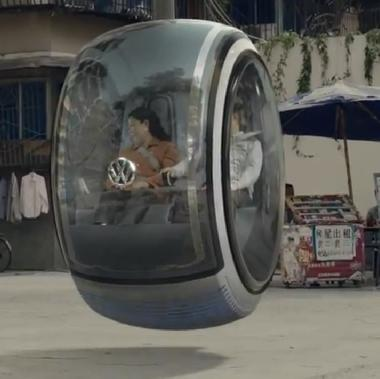 Volkswagen hover car 2014