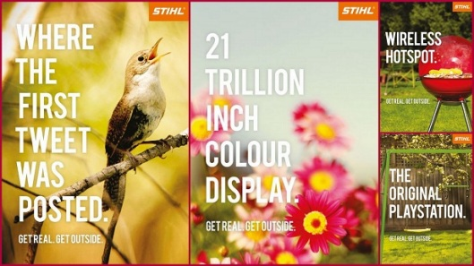 Get real. Get outside. Stihl