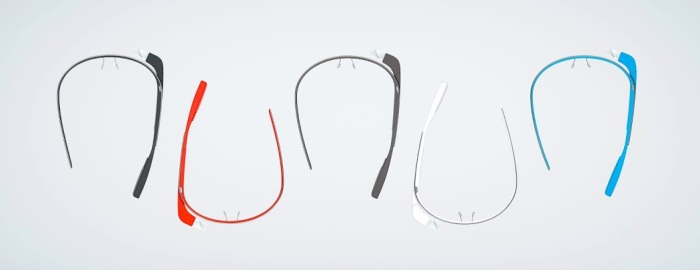 Google Glass colores