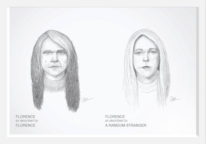 dove - retrato robot Florence