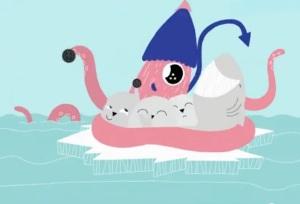 Oreo-Calamar_tiburón_focas
