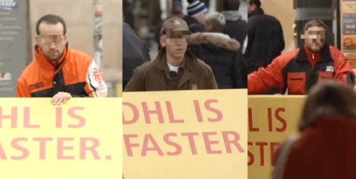 DHL - Faster - Caja - competencia