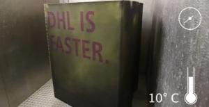 DHL - Faster - Caja