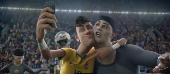 Nike-Neymar selfie