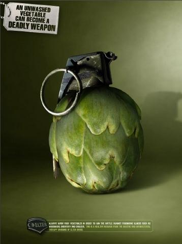 Vegetarianos-alcachofa explosiva