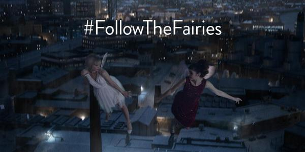 M&S Followthefairies Christmas ad 2014