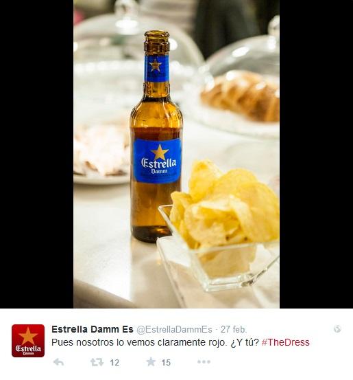 #TheDress Estrella Damm