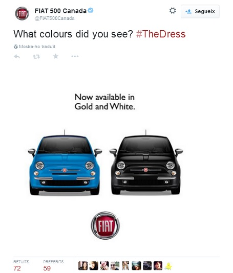 #TheDress Fiat