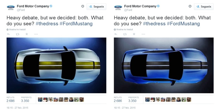 #TheDress Ford Motor Company