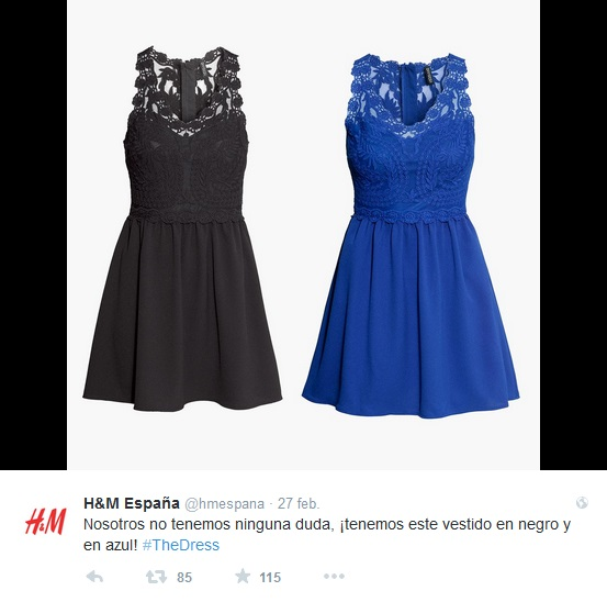 #TheDress H&M España