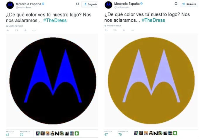#TheDress Motorola