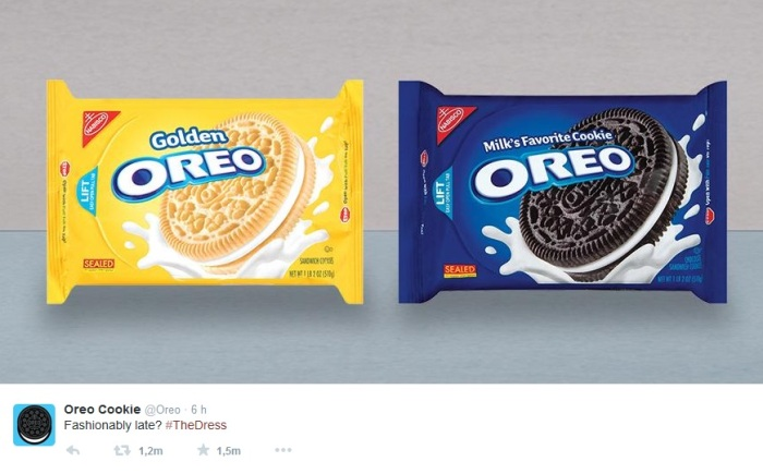#TheDress Oreo