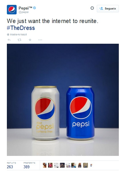#TheDress Pepsi