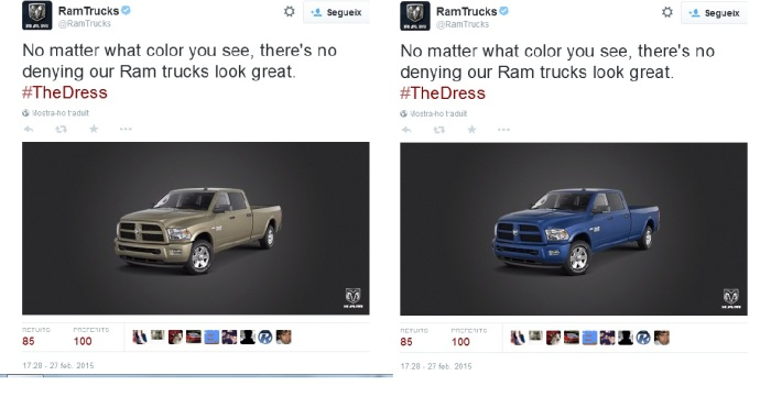 #TheDress RamRrucks