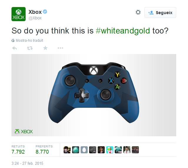 #TheDress Xbox