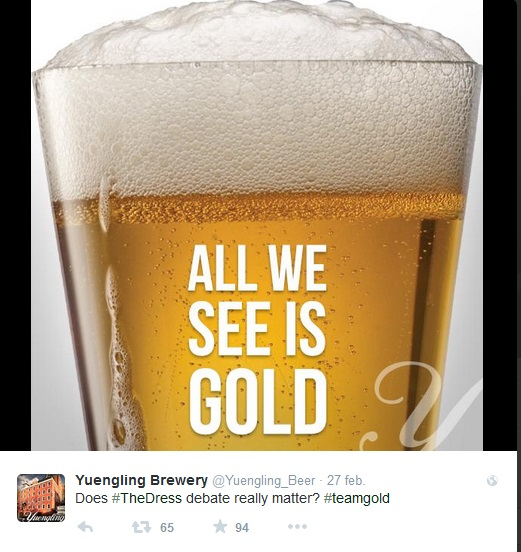 #TheDress Yuengling Brewery