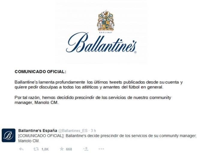 Ballantines_comunicado_despido