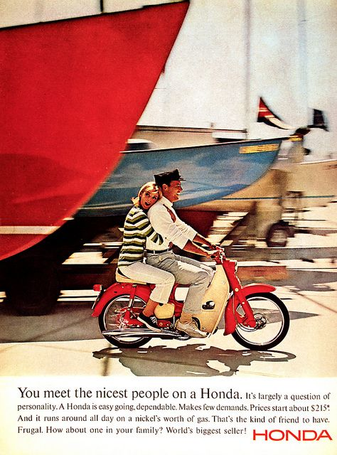 Honda 'Paper' - primer anuncio 'You meet the nicest people on a Honda'2