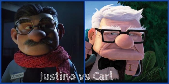 Loteria Navidad 2015_Justino Vs Carl 'Up'