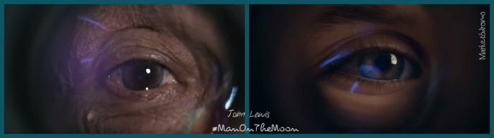 John Lewis #Manonthemoon Ojos