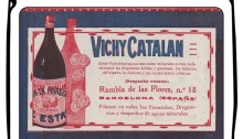 Anuncio prensa 1909 Vichy Catalan