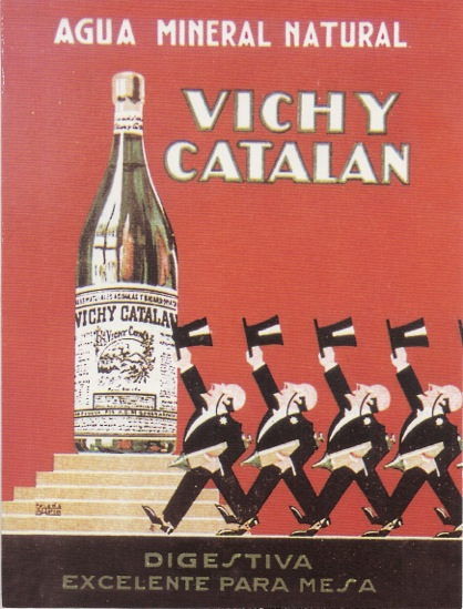 Cartel Vichy Catalan Digestiva 1929-1932