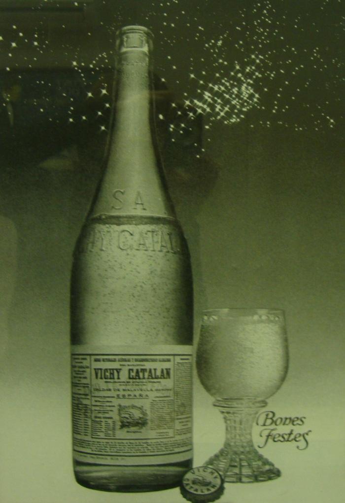 Anuncio Vichy Catalán 'Bones Festes' 1975