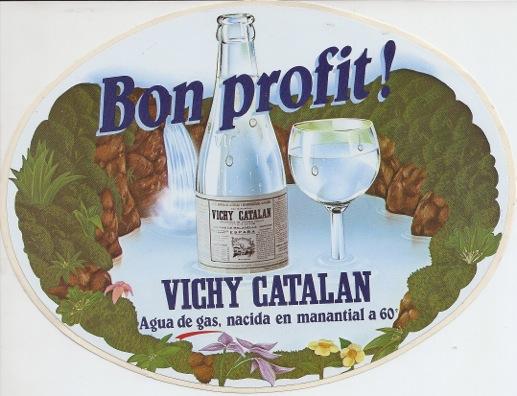 Anuncio Vichy Catalán 'Bon Profit' 1985