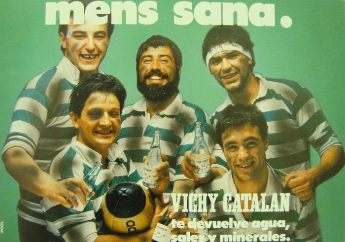Anuncio Vichy Catalán 'Mens sana' 1986.
