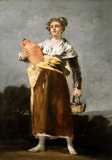 'La aguadora' (Goya)