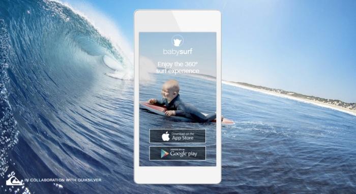 Evian - surf - app